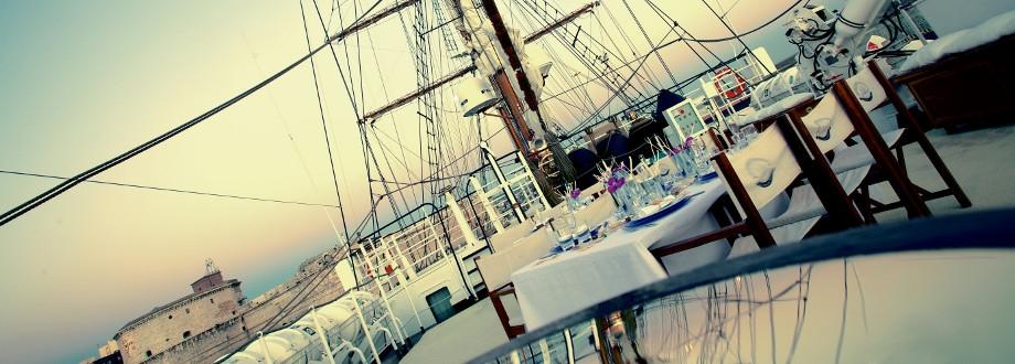 abbastanza Matrimonio in barca - caicco catering cilento QP84